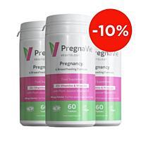 PregnaVie. Pro těhotné a kojící ženy, 60 tablet, sada 3 ks se slevou 10 %
