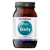 Viridian Synerbio Daily probiotika a prebiotika, 90 kapslí