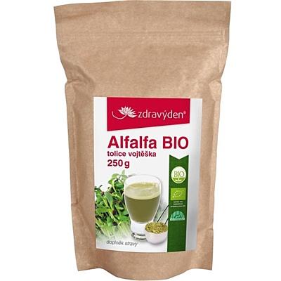 Zdravý den Alfalfa (Tolice vojtěška) BIO, 250 g