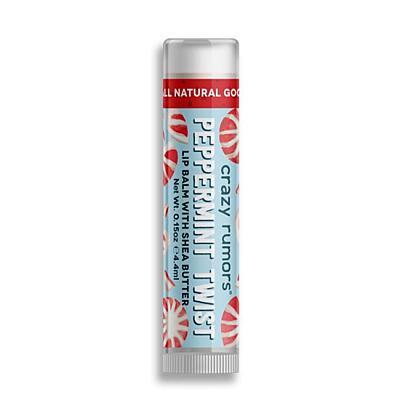 Crazy Rumors balzám na rty Peppermint Twist, 4,2 g