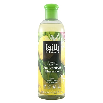 Přírodní šampon proti lupům Citron & Tea Tree, 250 ml