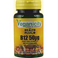 Vitamín B12, 50 µg (metylkobalamin), 90 tablet