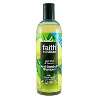 Přírodní šampon proti lupům Citron & Tea Tree, 400 ml