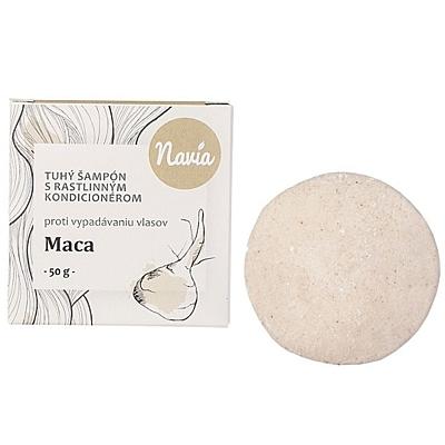 Tuhý šampon s kondicionérem - Maca, 50 g