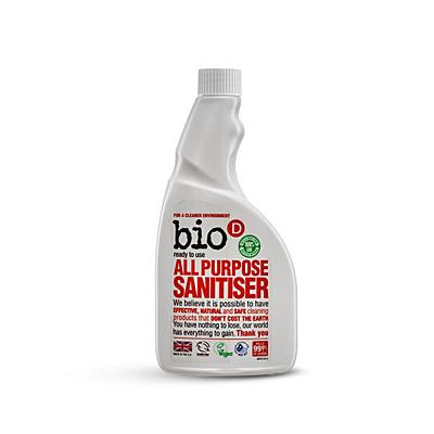 Bio-D Univerzální čistič s dezinfekcí - náhradní náplň, 500 ml