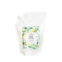 Tekuté mýdlo Březová míza + Citron, náhradní náplň 1 000 ml