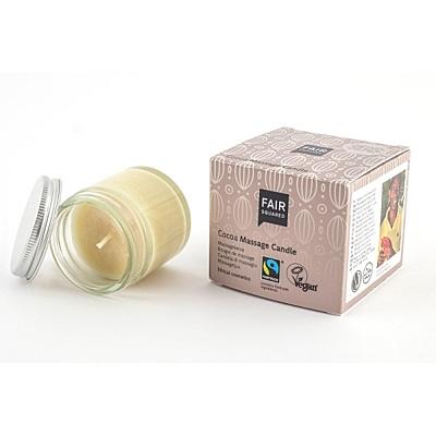 Fair Squared Masážní svíčka KAKAO, 50 ml