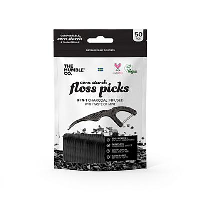 Floss Picks 2in1, 50 ks