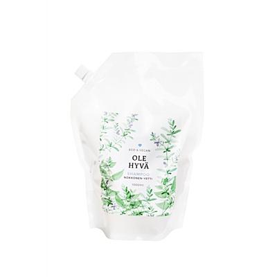 Šampon Kopřiva + Rozmarýn, náhradní náplň 1 000 ml
