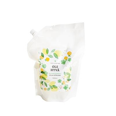Sprchový gel Moruška + Citrusy, náhradní náplň 1 000 ml