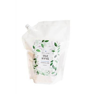 Šampon Vřes + Limetka, náhradní náplň 1 000 ml